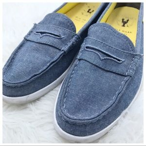 Cole Haan   Pinch Weekender Chambray Penny Loafer